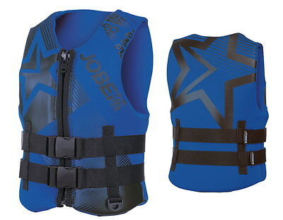 JOBE Progress Neo Vest Children's Life Jacket Neoprene Vest blue