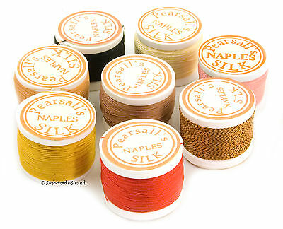 Pearsall's Naples Silk Rod Wrapping Thread Size 4/0