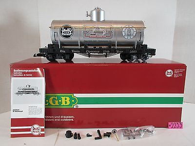 LGB 43805 G Scale 25th Anniversary Tank Car O.B.