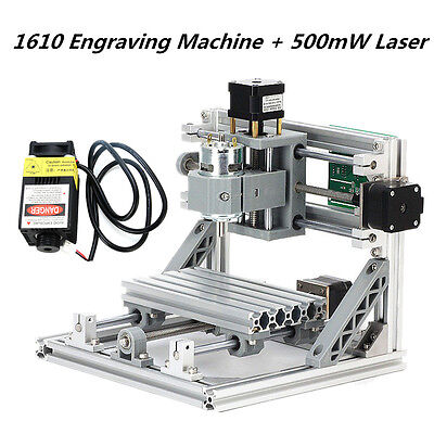 CNC Router Carving 1610 GRBL Control Milling Mini Engraving Machine +500mw Laser