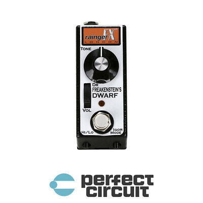 Rainger FX Dr Freakenstein's Dwarf Micro DISTORTION - DEMO - PERFECT CIRCUIT