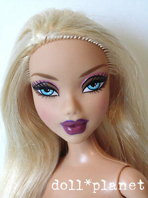 Rare KENNEDY My Scene Barbie Doll nude blonde vibrant collectible OOAK or play