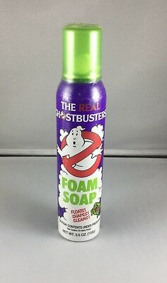 Real Ghostbusters Foam Soap -- Full & Factory Sealed