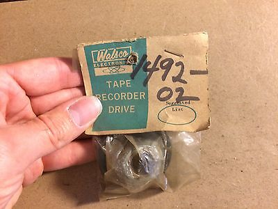 Vintage Idler Wheel Walsco Turntable Tape Parts NOS 1492-02 Drive Wheel Webcor