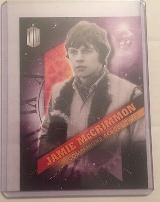 Jamie McCrimmon 2016 Topps Doctor Who Timeless Companions Across Time #9