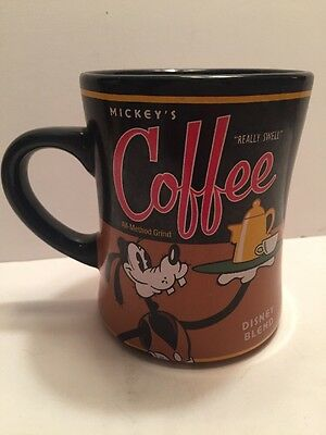 Disney Goofy Barista Really Swell Coffee Mug Collection Park Exclusive Tea Cup