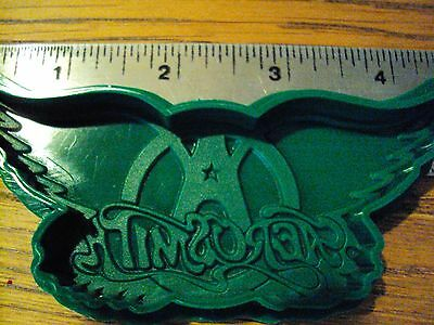 Vintage AEROSMITH Cookie Cutter Candy Chocolate Soap Mold Fan club issued