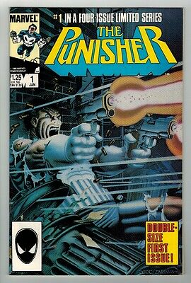 The Punisher #1-#5 Complete Mini-Series - Mike Zeck Art & Covers - Marvel/1986