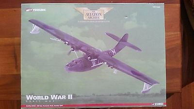 Corgi Aviation 1:72 Catalina Mkiia No 209 Sqn Pembroke Dock 1941