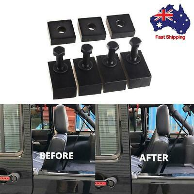 Aluminum Rear Seat Recline Kit with Bolts and Washers for Jeep Wrangler JK JKU