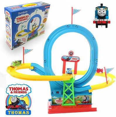 Thomas & Friends The Tank Engine Electronic Train 360 Flip Music Sound Kids Toy