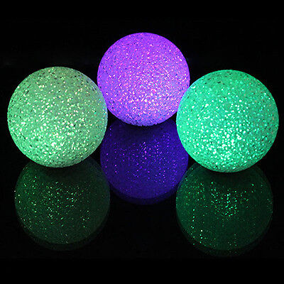 Color Changing Crystal Ball LED Night Lamp Magic 7Colors Colorful Light C