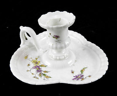 Bougeoir ras de cave en porcelaine de Limoges par Haviland