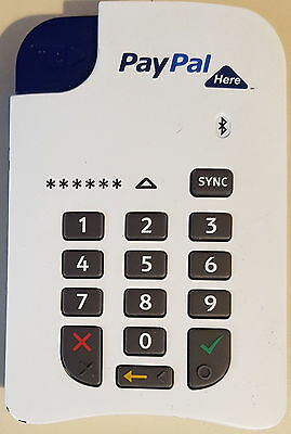 Paypal Here Bluetooth Chip & Pin Reader