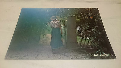 Carte postal photo jeune fille David Hamilton