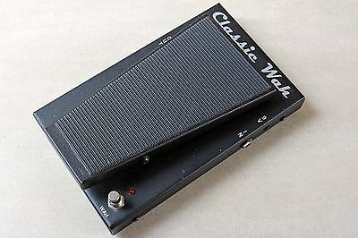 Morley USA classic wah guitar effects pedal, opto-electronic, noise-free!