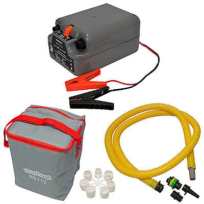 Bravo BST800 Electric Air Pump Inflatable High Pressure SUP RIB Battery Powered