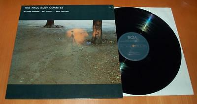 The Paul Bley Quartet With John Surman - 1988 German ECM Label Vinyl LP