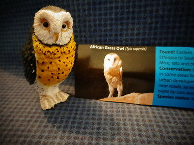 Yowie Yowies * BRAND NEW, AFRICAN GRASS OWL * + PAPERS