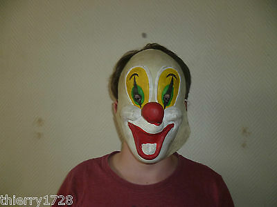 Deguisement  Masque De Clown Souple