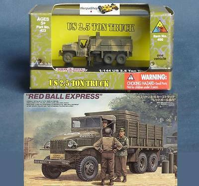 WWII 1:144 US Wehrmacht GMC 6x6 2.5 Ton Military Modell NMT_423