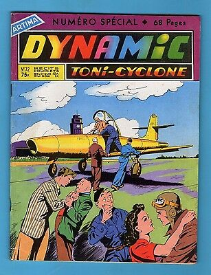 ► Dynamic Toni Cyclone - N°72 - Numero Special 68 Pages - Artima - 1958