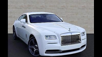 Rolls Royce Wraith 6.6L 2014 luxury car hire from only £800