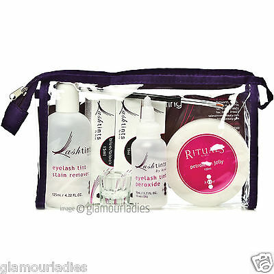 HIVE OF BEAUTY Complete Professional Eyebrow and Eyelash Student Tinting Kit