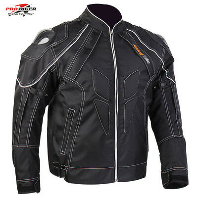 Motorcycle Racing Jacket Protector Motocross Armour Protection Jacket 5 pcs pads