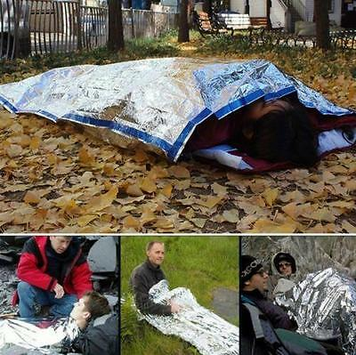 Useful Sleeping Bag Blanket Rescue Thermal Space Emergency Survival Outdoor Kit