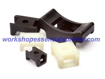 Cable Tie Saddles-Screw or Rivet to Secure Maximum 13mm Cable Tie