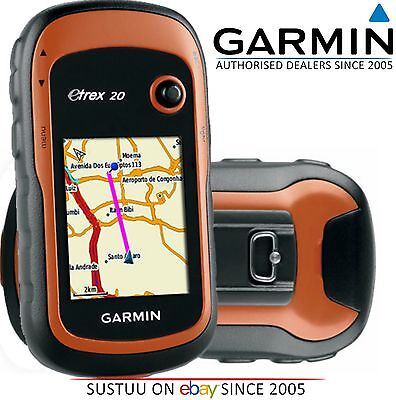 Garmin eTrex 20 GPS Outdoor Handheld Colour Map Navigator with Worldwide Basemap