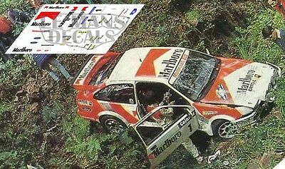 Calcas Ford Sierra RS Cosworth Rally Llanes 1988 1:32 1:43 1:24 1:18 decals