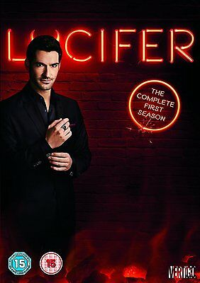 Lucifer Season 1 New & Sealed Region 2 DVD Boxset