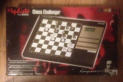 Mephisto Chess Challenger Electronic Chess Computer Saitek VGC! Fully Working