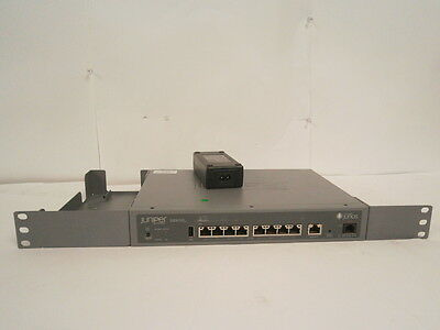 Juniper Networks SRX110 8 Port Switch Services Gateway + AC Adapter * WORKING *