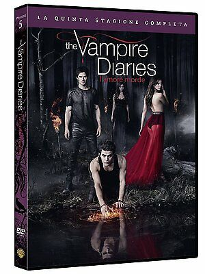 The Vampire Diaries - L'amore morde - Stagione 5 (5 DVD) - ITALIANO ORIGINALE -