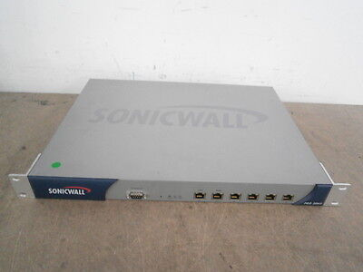 Sonicwall Pro 3060 VPN Firewall 6 Port Network Security Appliance + SOFTWARE !