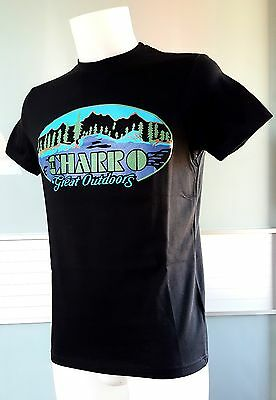"""el Charro"" T-Shirt Nero (Tg.l) Great Outdoors Anni 80 Style (Preppy Paninaro)"