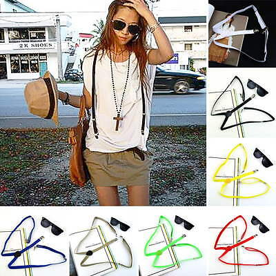 Mens Womens Elastic Clip-on Solid Color Y-Shape Adjustable Braces Suspenders OE