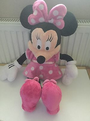 Large Minnie Mouse OFFICIAL DISNEY STORE Soft Plush Toy Clubhouse