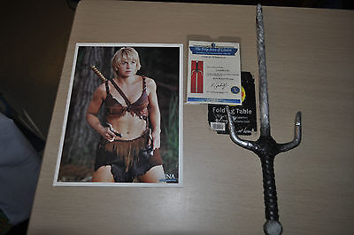 Xena Warrior Princess. Gabrielle's Sai  Prop made from Resin not a real One