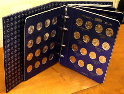 SPECIAL SALE PRICE! 117-Coin P D S Unc & Proof Presidential Dollar Coin Set