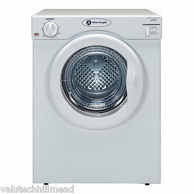 White Knight 3.5KG Electric Dryer, White (C39AW)