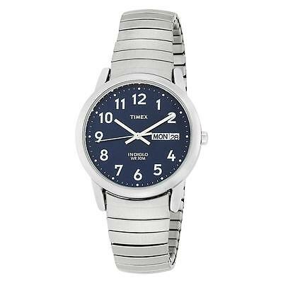 Timex T20031 Easy Reader Design Men's Indiglo Easy Reader Watch with Day & Date