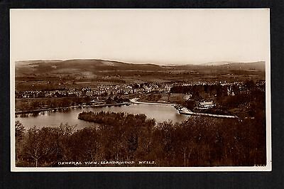 Llandrindod Wells - General View - real photographic p/card
