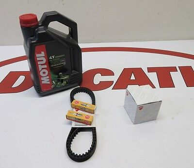 Ducati service kit Supersport /  Monster 900 TIMING BELTS MOTUL OIL FILTER NGK