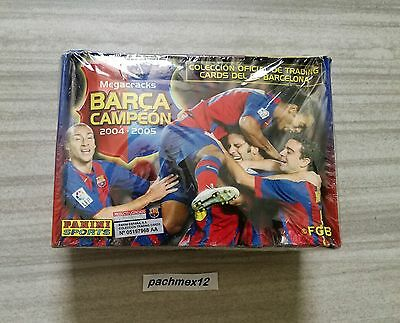 Panini Megacracks Barca Campeon 2004 -05 SEALED BOX Lionel Messi Rookie Card
