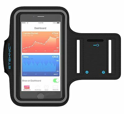 eTEKNIC iPhone 5 SE 5s 5c Armband For Running Sport Fitness Gym Jogging Case