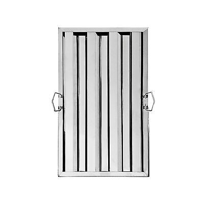 """New Star Foodservice 54347 Stainless Steel Hood Filter 16"""" x 25"""" (Pack of... New"""